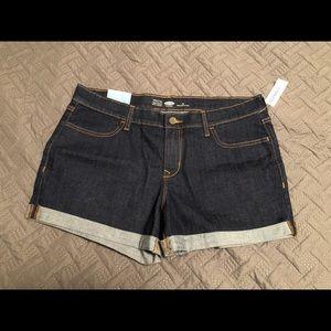 Dark Wash Old Navy Shorts